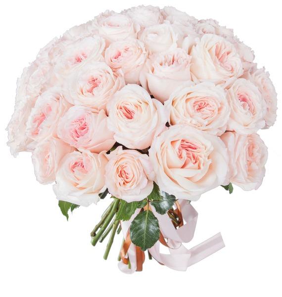 Букет из пионовидных роз Mayras Bridal (15, 31 или 51) – фото № 4
