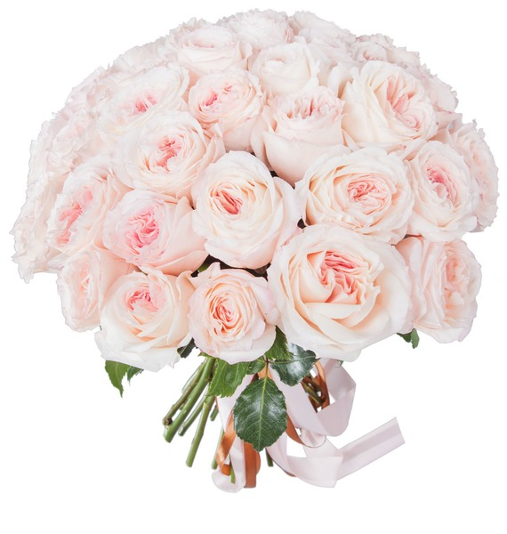 Bouquet of pion-shaped roses Mayras Bridal (15, 31 or 51) – photo #4