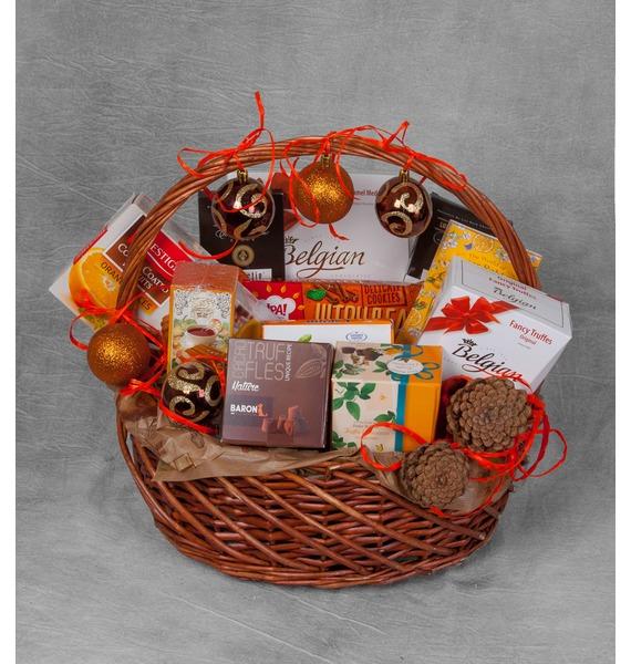 Подарочная корзина Шоколадный мусс – фото № 1