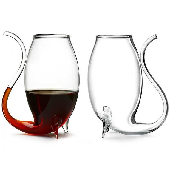 Набор бокалов для портвейна ручной работы