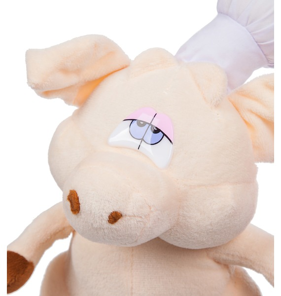 Мягкая игрушка Поросёнок Повар (19 см) – фото № 2
