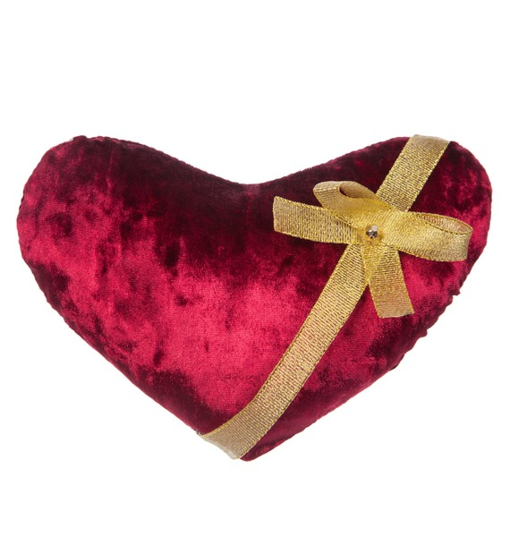 Мягка игрушка Бархатное сердце (20 см) bodypoetry черное бархатное боди nadja