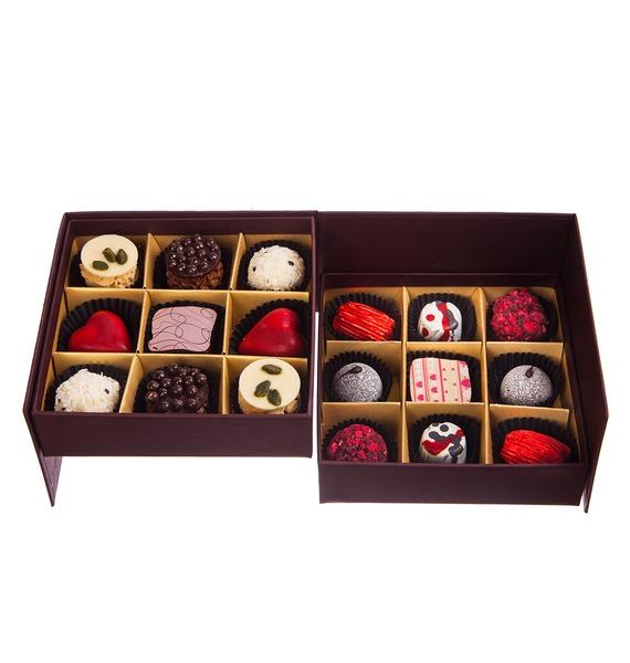 Конфеты ручной работы из бельгийского шоколада Рубин 18 – фото № 4