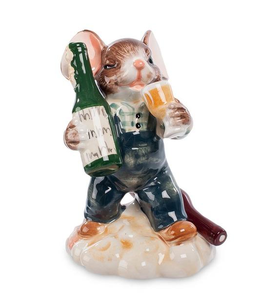 Фигурка Мышонок-Сомелье (Pavone) jp 247 10 фигурка кошка pavone