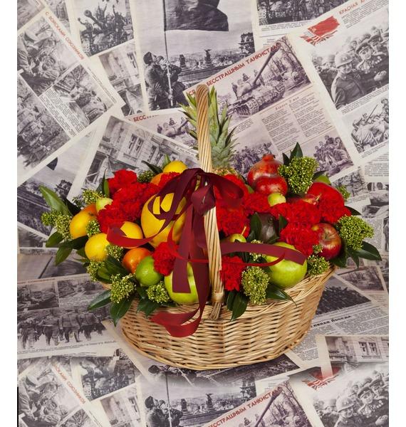Подарочная корзина Победителю подарочная корзина фруктовый заряд
