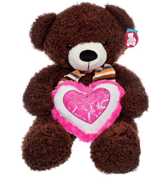 Мягкая игрушка Медведь Тимоша (60 см) мягкая игрушка медведь пузатый большой нижегородская игрушка см 377 5