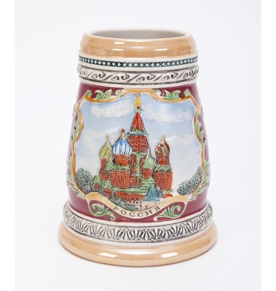 Кружка пивная Россия – фото № 2