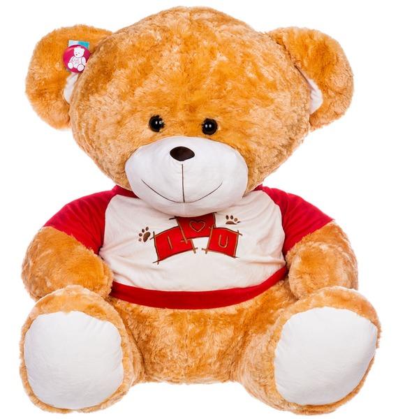 Мягкая игрушка Медведь Мики (100 см) мягкая игрушка медведь пузатый большой нижегородская игрушка см 377 5