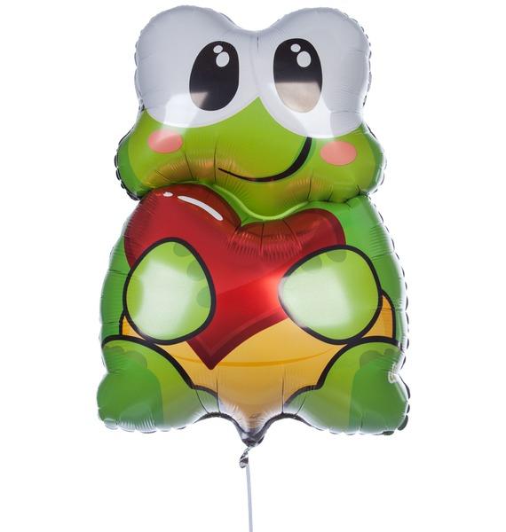 Воздушный шар Влюбленная черепашка (56 см) база для автокресла inglesina isofix ardesia av02d6100