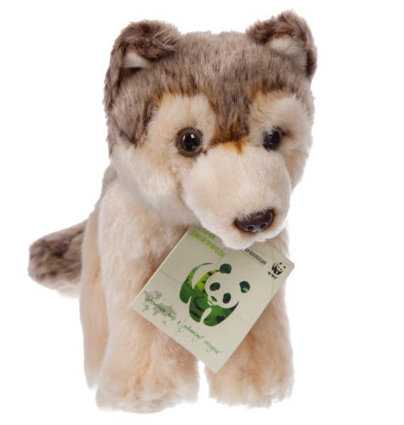 "Мягкая игрушка ""Волк WWF"" (20 см) цена и фото"