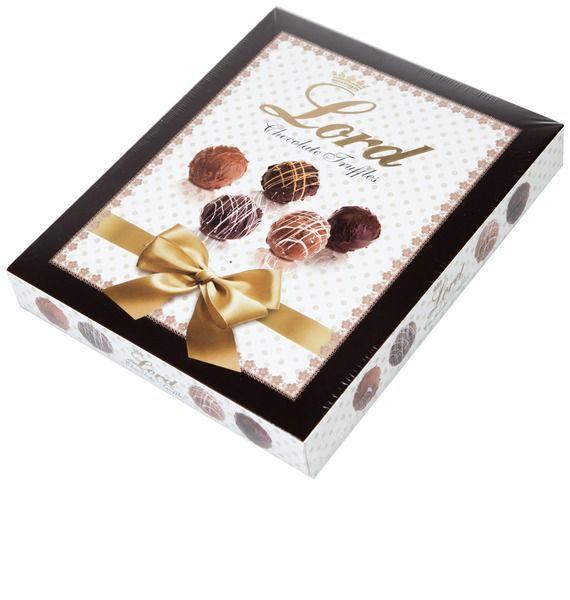 Шоколадные конфеты Лорд конфеты шоколадные трюфели царские золотые 135гр page 1