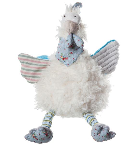 Мягкая игрушка Петух Эдриан (27 см) мягкая игрушка snowmen петух с носком белый