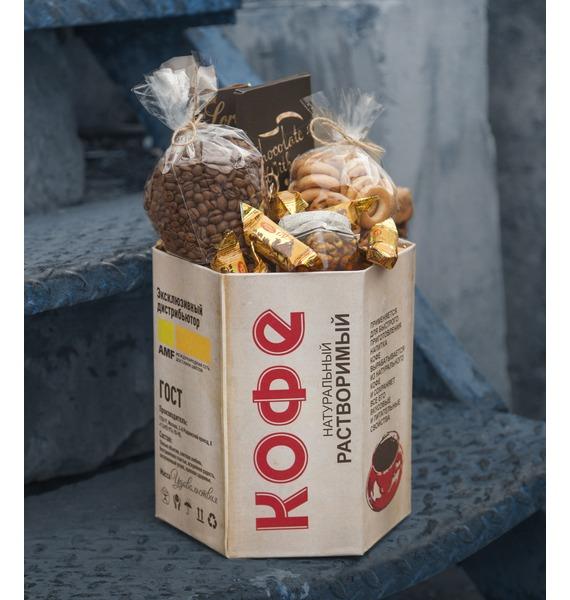 Подарочная коробка Ароматный кофе подарочная коробка 2353309 коробка подарочная чудес в новом году