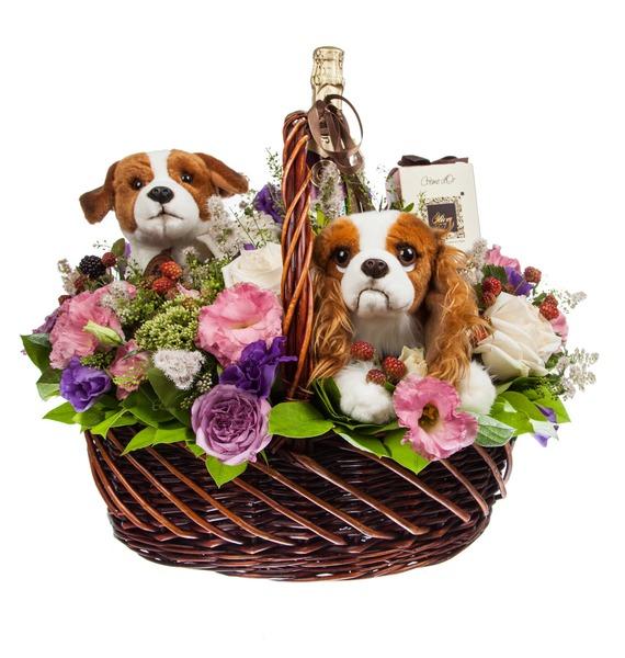Подарочная корзина Преданное сердце – фото № 4