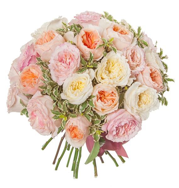 Букет из английской розы David Austin (21, 35 или 51) – фото № 5