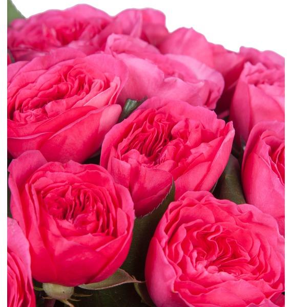 Композиция из 51 розы Baronessa – фото № 2