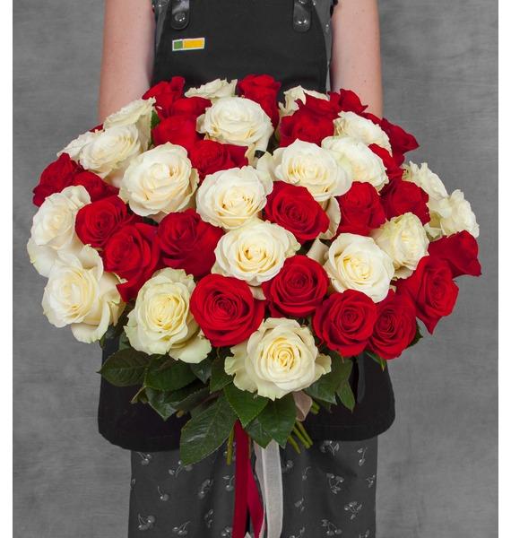 Букет эквадорских роз (25, 51, 75 или 101) цена
