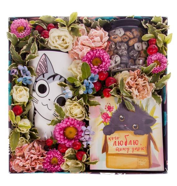 Подарочная коробка Любимой кошечке – фото № 2