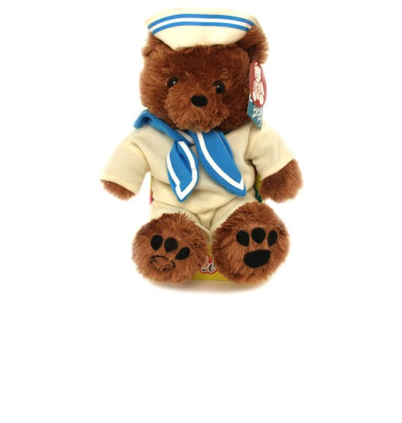Мягкая игрушка Медведь Бублик (30 см) мягкая игрушка нижегородская игрушка зоопарк с бантиком медведь 40 см