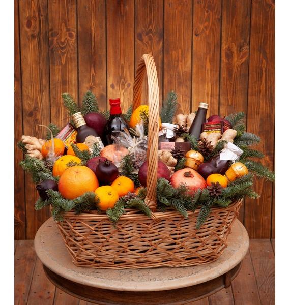 Подарочная корзина Фруктовый остров подарочная корзина фруктовый заряд