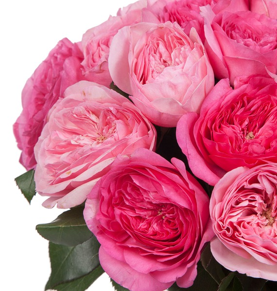 Bouquet of pion-shaped roses For the most beautiful! – photo #3