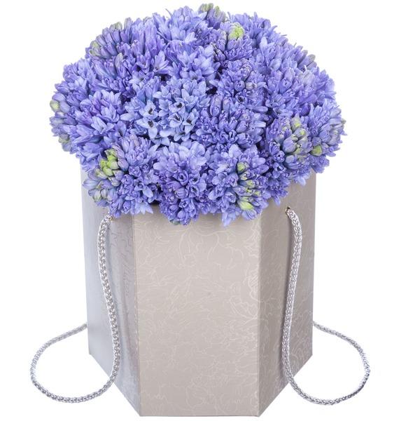 Композиция в вазе Голубое небо – фото № 1