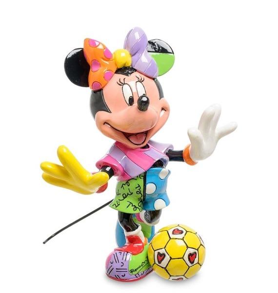"""Фигурка """"Минни Маус футболистка"""" (Disney) disney аппликация пайетками самой модной минни маус"""