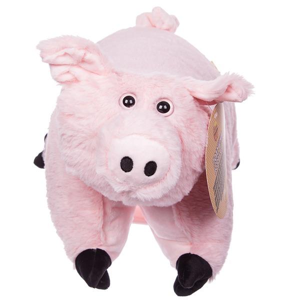 Мягкая игрушка-подушка Розовая Ховронья – фото № 1