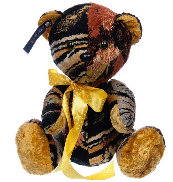 авторская игрушка ручной работы мишка тедди с любовью Плюшевый мишка Чики