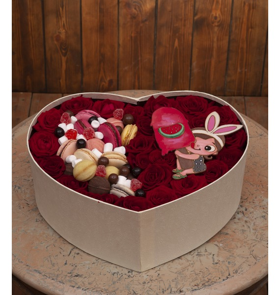 Фото - Подарочная коробка Любимое сердце подарочная коробка ангел