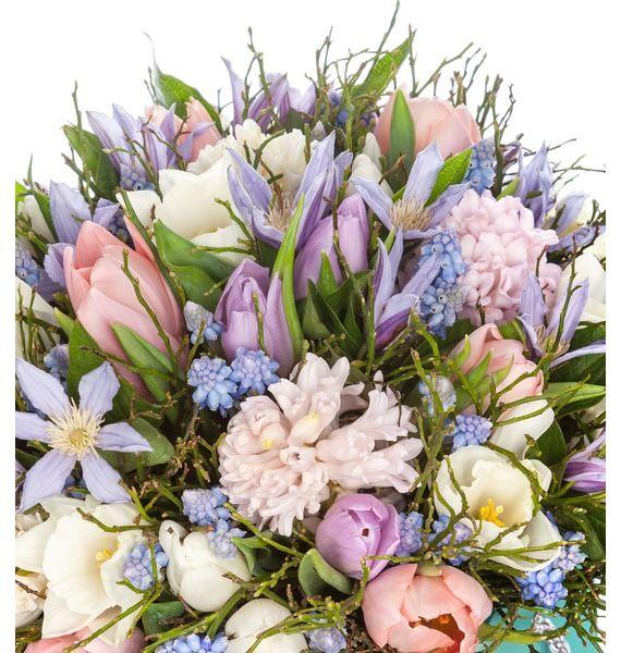 Композиция в вазе Весенние цветы – фото № 2