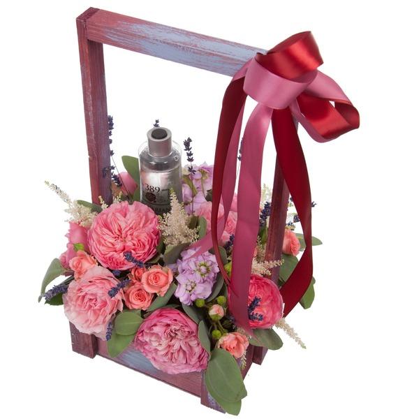 Композиция Розовый сад – фото № 2