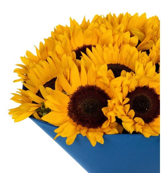 Букет Солнце в подарок – фото № 4
