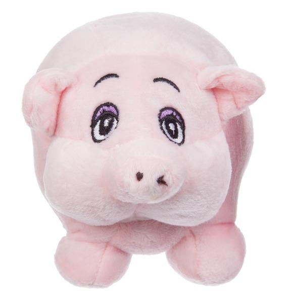 Мягкая игрушка Поросёнок Пухлик (14 см) игрушка