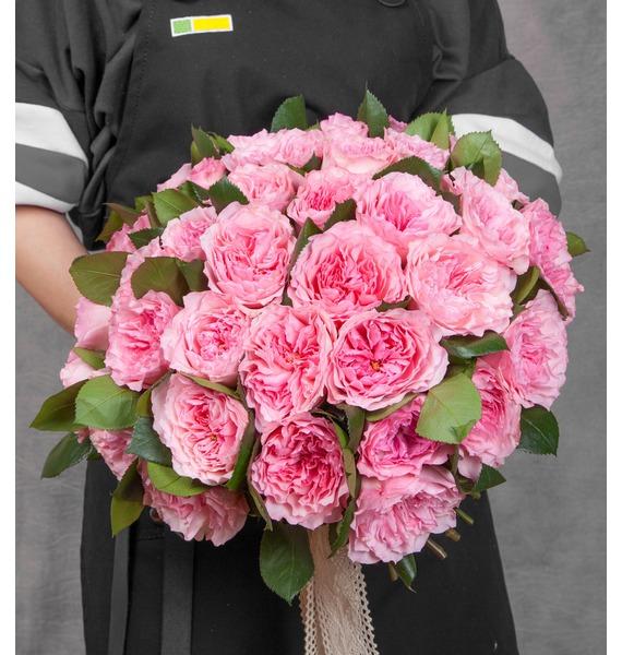 Фото - Букет из пионовидных роз Mayras Rose (15, 25 или 51) фото