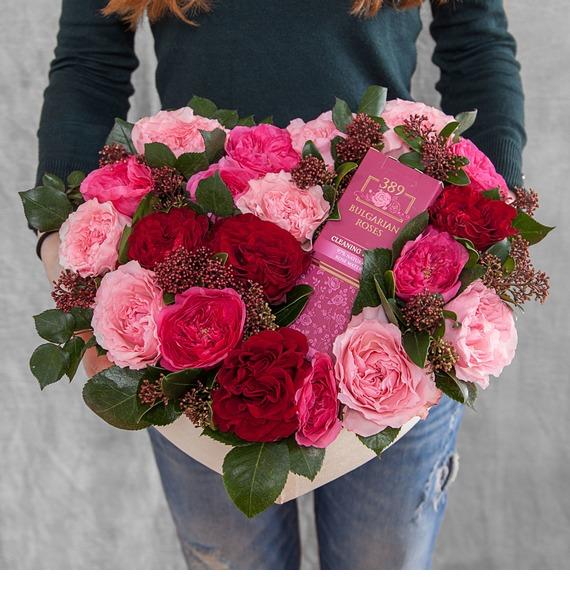 Композиция Розовая мечта композиция розовая мечта
