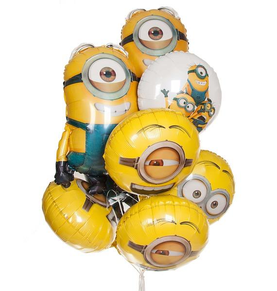 """Букет шаров """"Веселые друзья"""" (9 или 18 шаров) стоимость"""