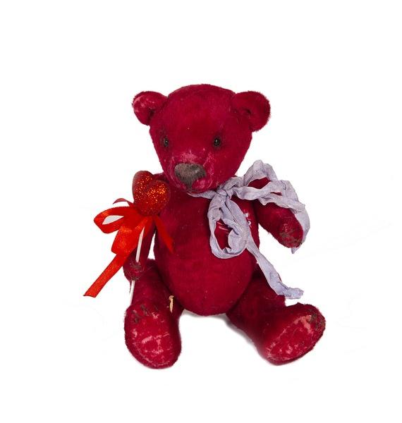 Авторская игрушка ручной работы Мишка-Тедди. С любовью игрушка ручной работы мишка кирюша