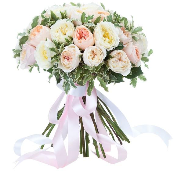 Букет из английской розы David Austin (21, 35 или 51) – фото № 2