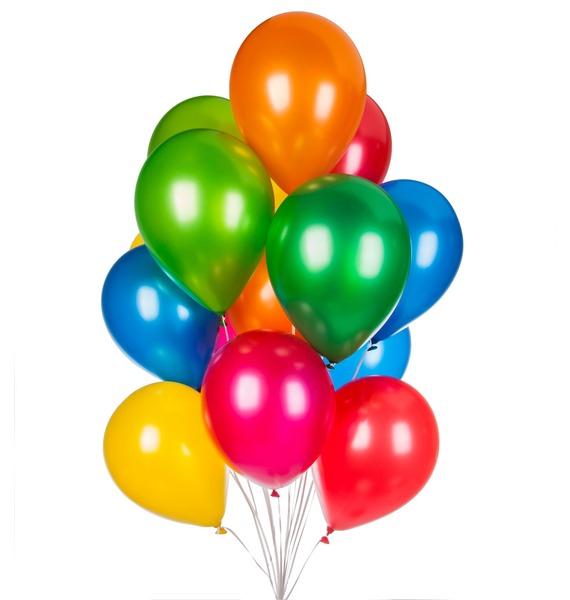 Букет шаров Радуга (15 или 31 шар) – фото № 1
