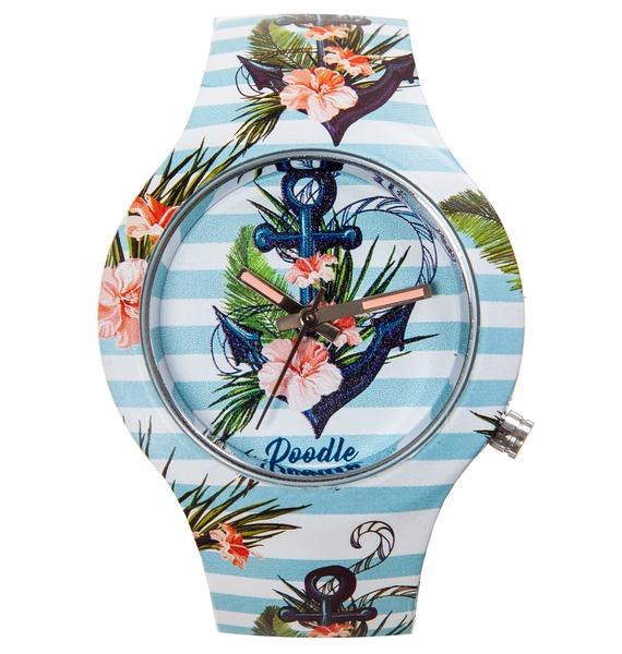 Часы Doodle Морской якорь часы doodle белый череп