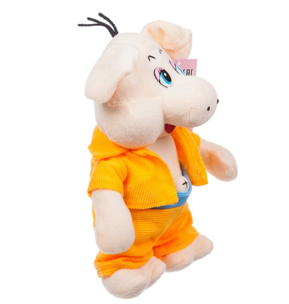 Мягкая игрушка Поросёнок Элвис (23 см) – фото № 3