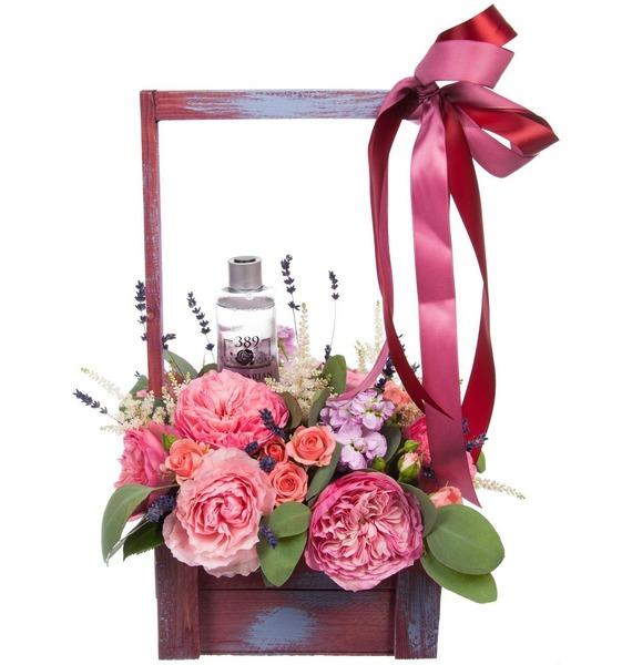 Композиция Розовый сад – фото № 5