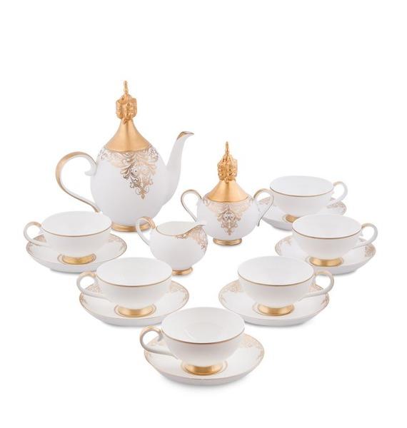 Чайный сервиз на 6 персон Гармония (Pavone) jk 122 чайный набор на 4 перс цветок неаполя fiore napoli pavone