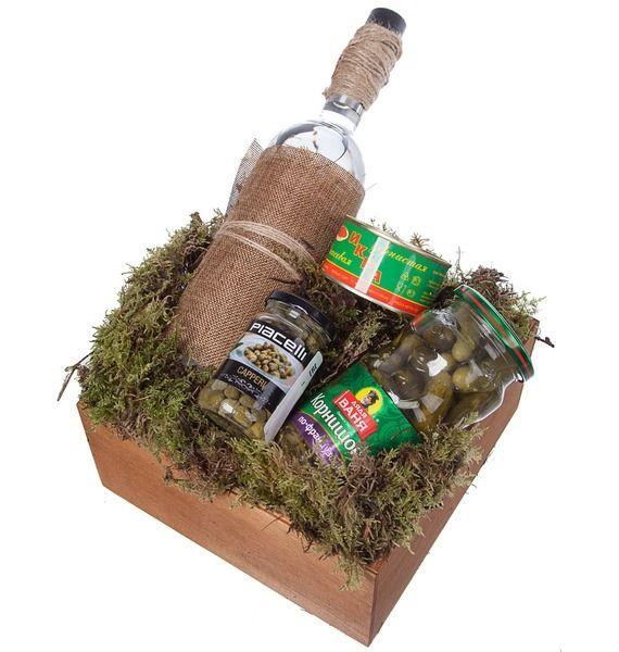 Подарочная корзина подарочная корзина чайная с заварочной кружкой