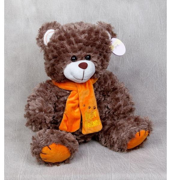 Мягкая игрушка Мишка - Лучший друг (40 см) ebulobo игрушка мягкая пирамидка мишка