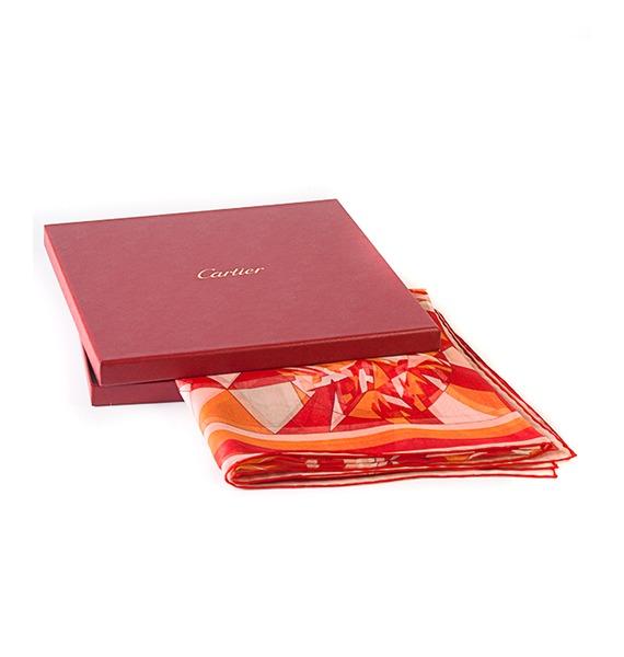 Шелковый платок Cartier – фото № 3