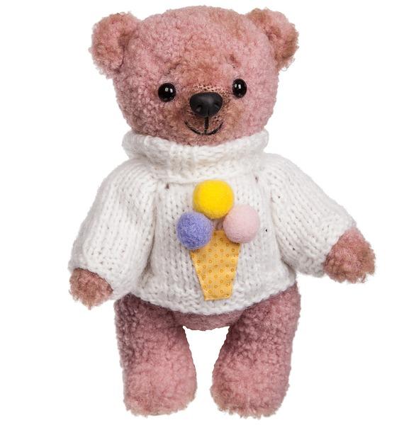 """Игрушка ручной работы """"Мишка Тедди в свитере"""""""