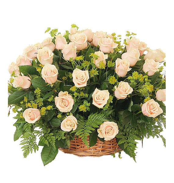 Композиция из 101 розы Изысканный комплимент композиция из 501 или 1001 желтой розы золото
