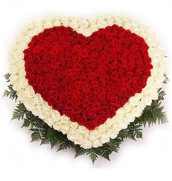 Композиция Счастливая любовь (101, 301 или 501 роза) – фото № 4